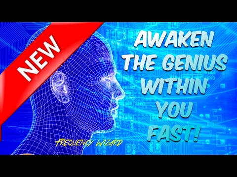 UNLOCK THE GENIUS WITHIN YOU FAST! SUBLIMINAL BINAURAL BEATS HYPER GAMMA SOUND THERAPY MEDITATION SP