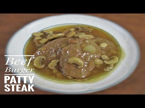 Easy Beef Burger Steak | Filipino Recipe |FoodBae