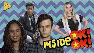 13 Reasons Why - Fernanda Entrevista Christian Navarro, Alisha Boe e Brandon Flynn