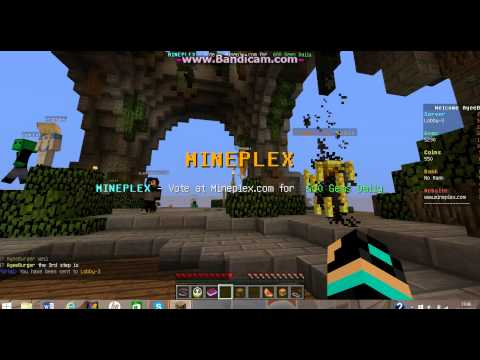 How to get gems really easy on mineplex.