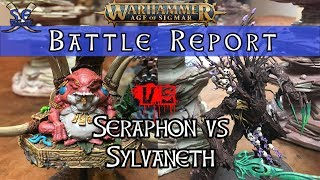 Download Age of Sigmar 2nd Edition Battle Report! Seraphon Vs Sylvaneth! Video