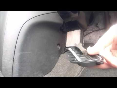 Cabin Filter change Mazda 2 UK