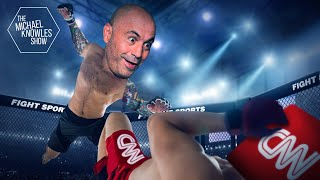 CNN Gets Into The Ring With a Cage Fighter  Ep. 865