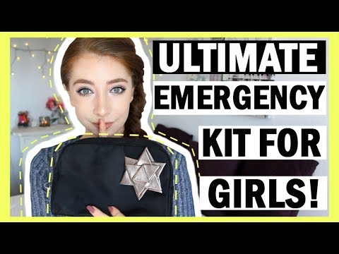 ULTIMATE DIY Girl's Emergency Kit For Back To School 2017-18 | Back To School Essentials For Girls!