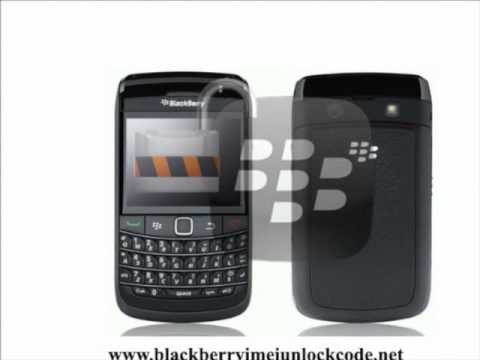 How To Get Bell Blackberry Bold 9780 MEP / IMEI  / Network Unlock Codes (Canada)