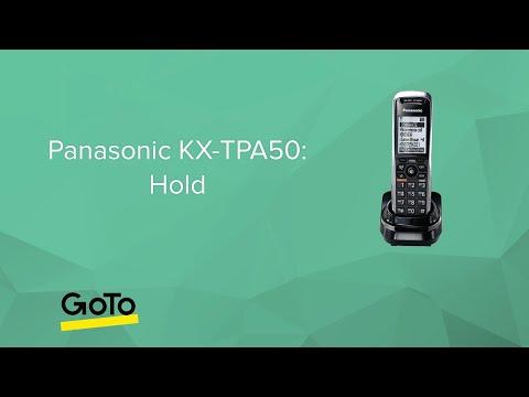 Panasonic KX-TPA50: Hold