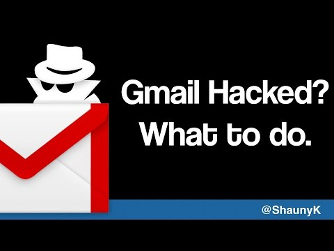 My Gmail was Hacked! What you should do.