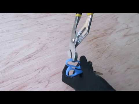 Making a Knife out of Scissors