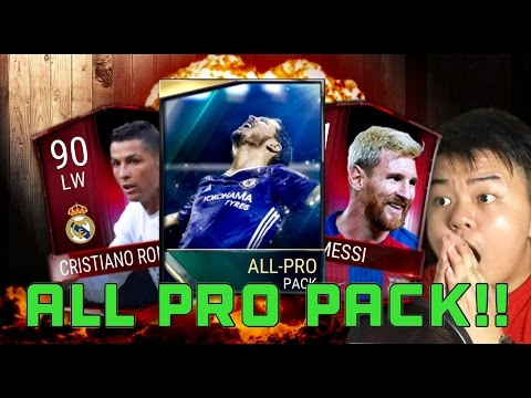FIFA 17 MOBILE IOS / ANDROID HOW TO GET A FREE ALL PRO PACK!!