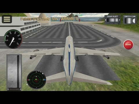 Flight Simulator: Fly Plane 3D Android Gameplay