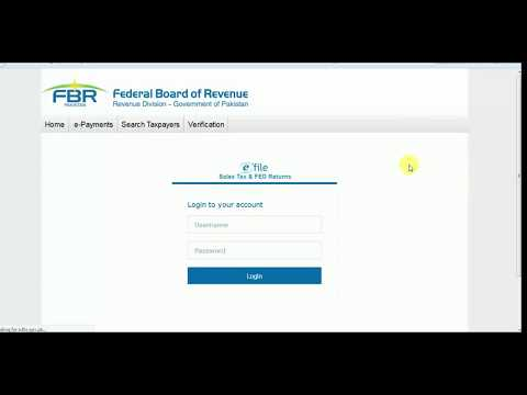 How to prepare E Payment to FBR making payment for fbr challan