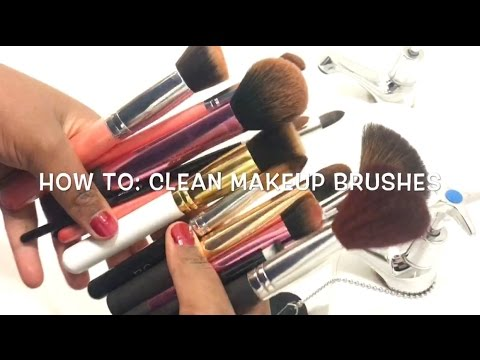 How To Clean Your Makeup Brushes | AVARESE BAUTY