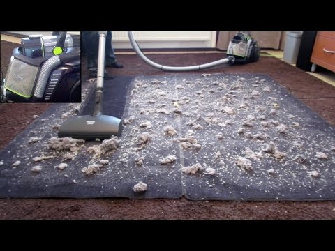 Big Mess Test: Electrolux UltraFlex Bagless Canister Vacuum Cleaner
