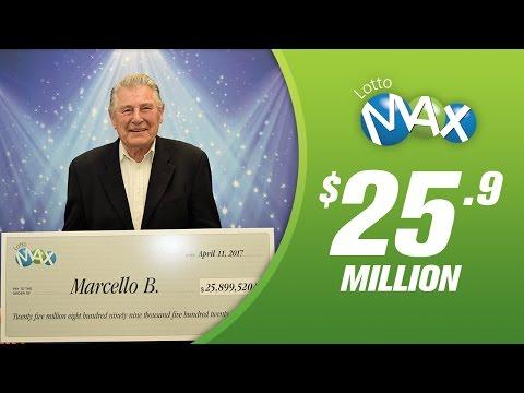 B.C's latest LOTTO MAX multi-millionaire, Marcello from Burnaby!