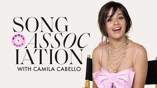Camila Cabello Sings Céline Dion, Mariah Carey, and SZA in a Game of Song Association | ELLE