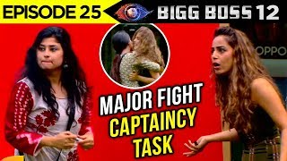 Saba Khan THROWS Srishty Rode On The Floor | Captaincy Task | Bigg Boss 12 Episode 25 Update