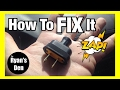 DIY HOW TO CHANGE A TWO PRONG PLUG ON A LAMP