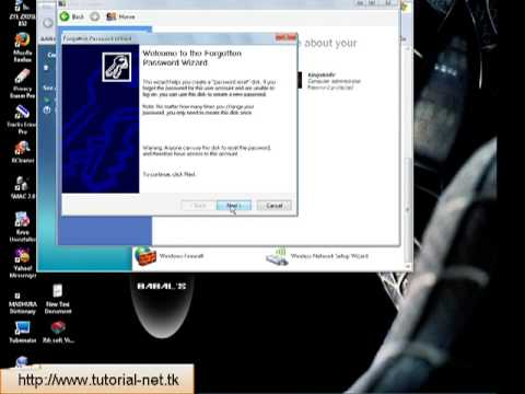 How to create password rescue (reset) disk Windows XP