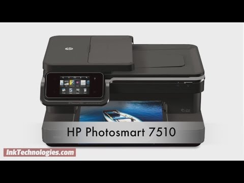 HP Photosmart 7510 Instructional Video