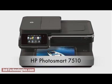 HP Photosmart 7510 Instructional Video
