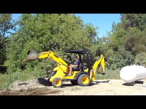 JCB Mini CX Backhoe-Loader