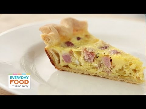 Gluten Free Recipe: Ham-and-Swiss Quiche - Reader Request Week - Everyday Food with Sarah Carey