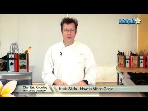 Knife Skills - How to Mince Garlic