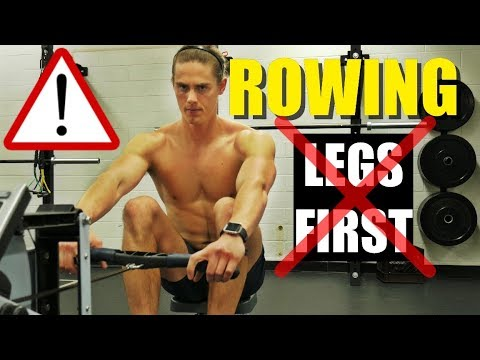 Rowing Machine: Why You Should NEVER Row 'Legs First'