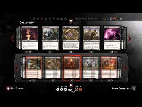 How to build a Magic deck 101: Red/Black