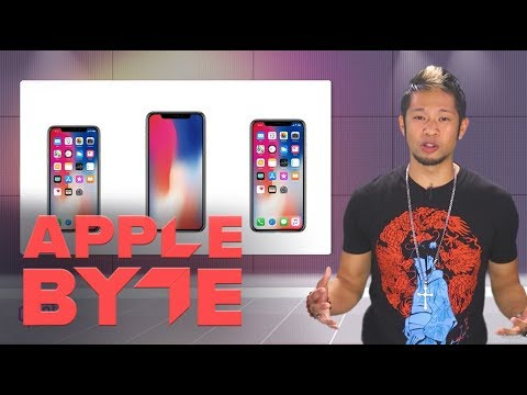 Three iPhone X models expected in 2018 (Apple Byte)