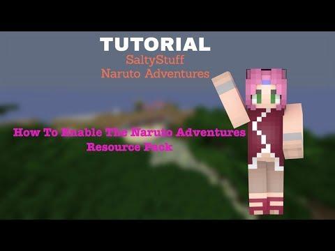 NarutoAdventures Tutorial  - Resource Pack