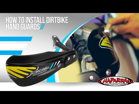 How to install  Dirtbike Hand Guards - Chaparral Motorsports Tech Tip #11