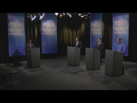 Debate of Indiana Republican hopefuls for US Senate