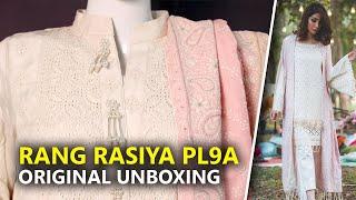 19d50eec85 Rang Rasiya Collection 2019 | Stitched Off-White PL9A Sara Clothes | Hina  Altaf