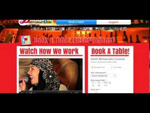 Dushi Restaurants Curacao How to make a Reservation Book a Table