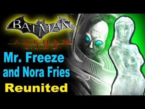 Batman Arkham City: Mr. Freeze and Nora Fries Reunited (Xbox360, PS3, PC)