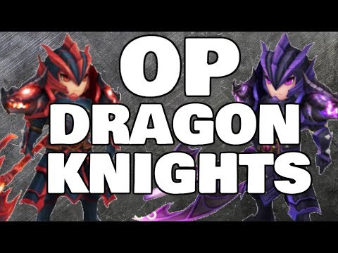 The Two BEST DRAGON KNIGHTS! - Ragdoll and Laika Siege Battle - Summoners War