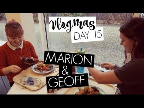VLOGMAS DAY 15 / Marion and Geoff