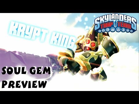 Krypt King Soul Gem Preview and Location - Skylanders Trap Team 1080P
