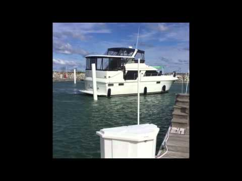 Boat docking Twin Engines  in high winds