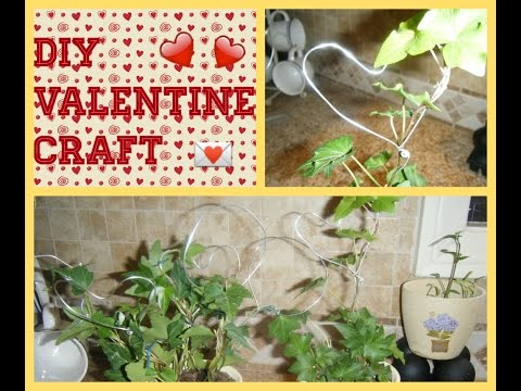 DIY - IVY HEART TOPIARY