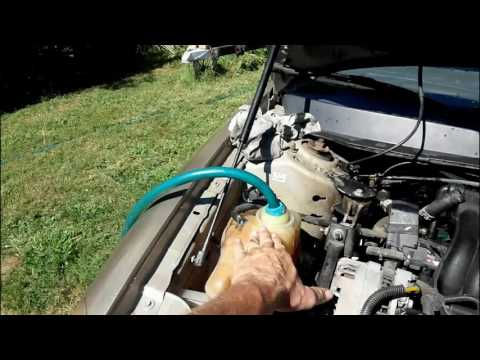 Flushing out Engine Stop Leak from an engine....Ford Taurus. -DON'T USE IT!!