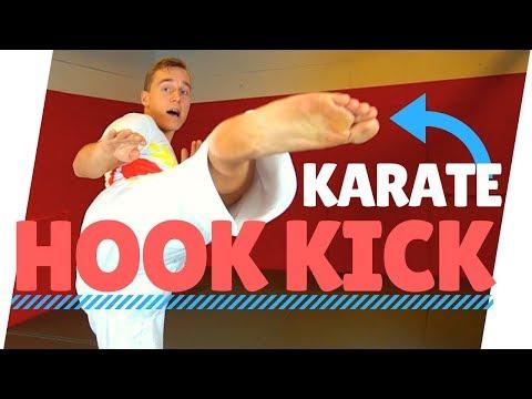 HOW TO HOOK KICK (URA MAWASHI GERI) IN KARATE — Jesse Enkamp