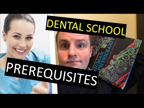 BECOME A DENTIST!!! | Prerequisites for Dental School