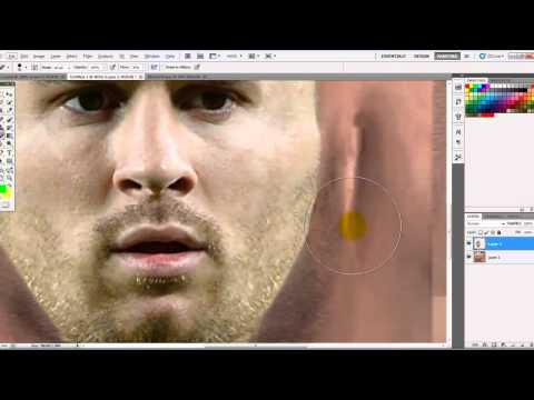 How To Make Face For Pes 2013 Part 1