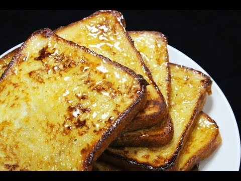Perfect French Toast (For Breakfast or Brunch) - Chef Lall's Kitchen