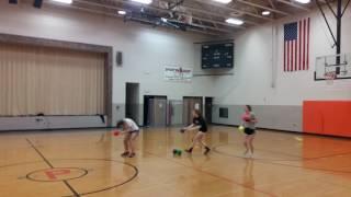 When You play dodgeball with a Softball player. licensing@viralhog.com