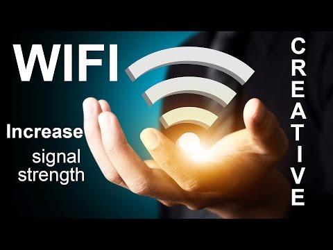 How to increase wifi signal strength - CREATIVE