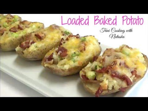 Loaded Baked Potato- Twice baked potatoes - Episode 431