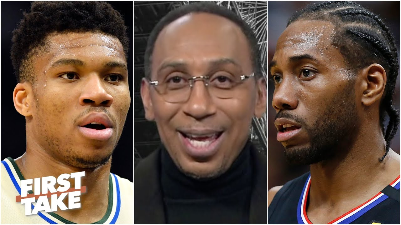 Kawhi or Giannis: Which NBA star is under the most pressure to win a title this season? | First Take